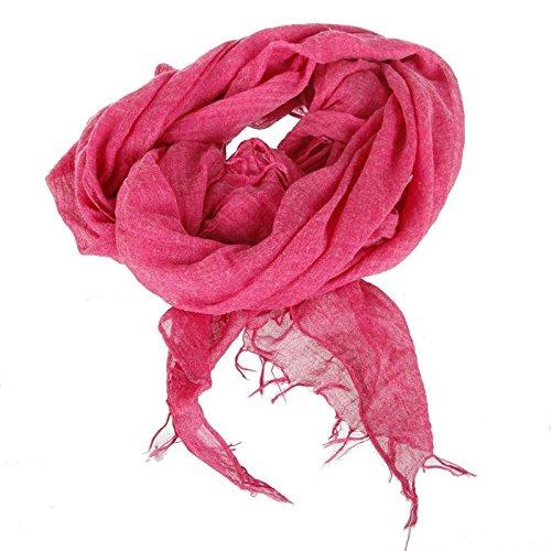 Paris Prix - Foulard Doux 80x180cm Rose