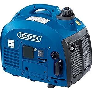 Draper 28853 Generator with Petrol Engine, 700W, Blue