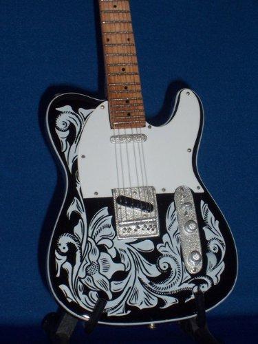 WAYLON JENNINGS Mini Guitar Display Gift