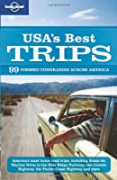 Lonely Planet USA's Best Trips Front Cover