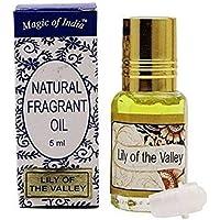 Magia de la India aceite de fragancia natural Lirio del Valle fragancia 100% pura y natural–5ml