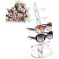 GreenSun(TM) New 5 pairs glasses sun glasses display shelf Sunglasses Plastic...