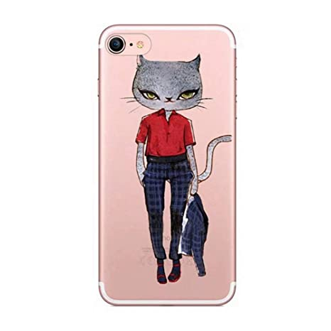 Felfy Okssud Carcasa iPhone 6,Funda iPhone 6S Transparente ...