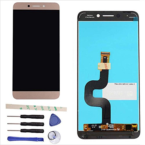 LCD Display Touch Screen Digitizer Assembly Replacement for Letv LeEco Le S3 X 622 X626 X 522 X532 (Rose Gold)