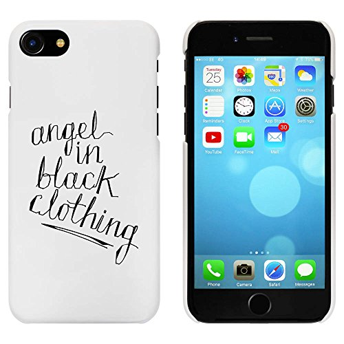 Blanc 'Angel In Black' étui / housse pour iPhone 7 (MC00081996)