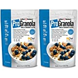 ProGranola 12g Protein Cereal Vanilla Cinn (Paleo : Low Net Carb : Gluten Free : Grain Free) (2 Pack)