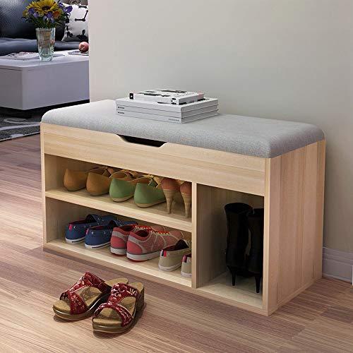 (Adagod Cubeicals 3-Cube Storage Bench Sofa Bench Change Shoe Bench Shoe Rack)