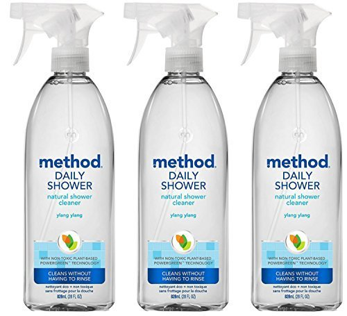 Cleaner Method Daily Shower (Method Daily Shower Spray,ylang Ylang, 28 Fluid Ounce (Pack Of 3))
