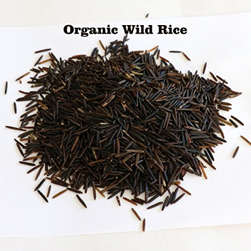 5 LB of Grown Organic Long Grain Wild Rice Bulk Kosher