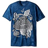 The Mountain Men's Colorwear Toitle Turtle Adult Coloring T-Shirt, Blue, X-Large