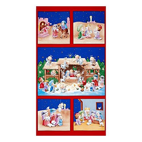 - Elizabeth Studios 0443883 The Little King 24 in. Panel Red