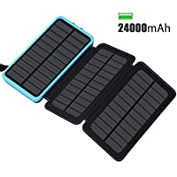 ADDTOP Solar Charger 24000mAh Portable S...