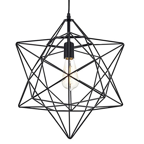 Star Pendant Light Fitting