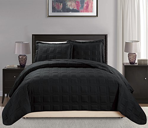 quilts king size black - 2