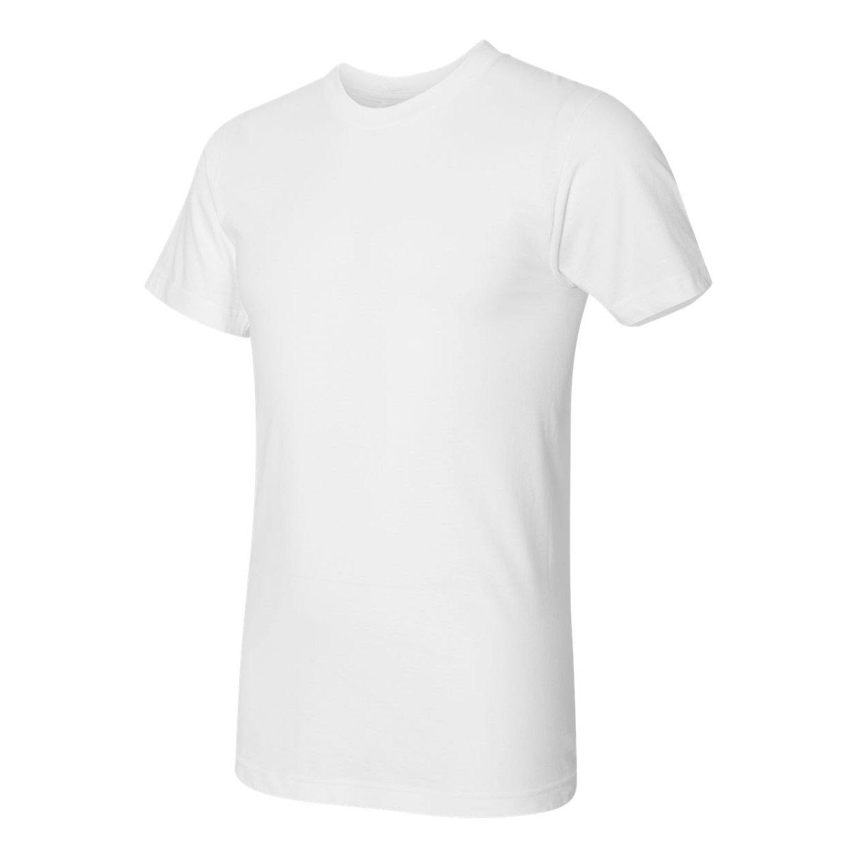 American Apparel Mens Fine Jersey Tee (2XL) (White)