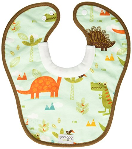 Price comparison product image Goo-Goo Baby Miracle Milk Bib,  Blue / Turquoise / Brown / Lime,  One Size