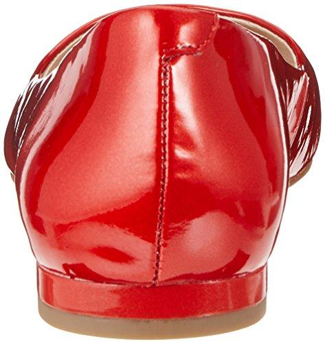 Caprice Signore 22107 Rosso Chiuso Piatto (brevetto Rosso 505)