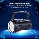 Aramox Diving Flashlight 18000 Lumen IPX8 Scuba