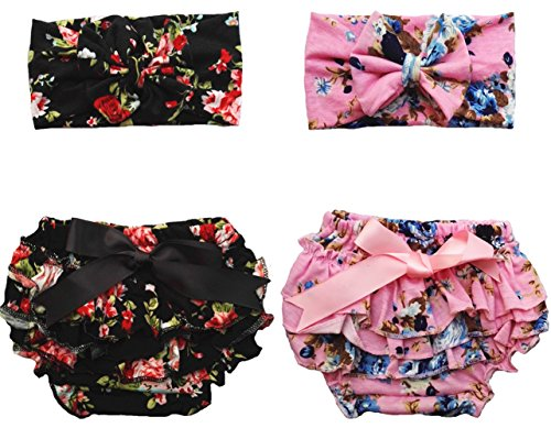 Qandsweet Stretchy Bloomers headband Summer product image