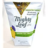 Mighty Leaf Whole Leaf Tea 50 Individual Wrapped Pouches Green Tea Tropical