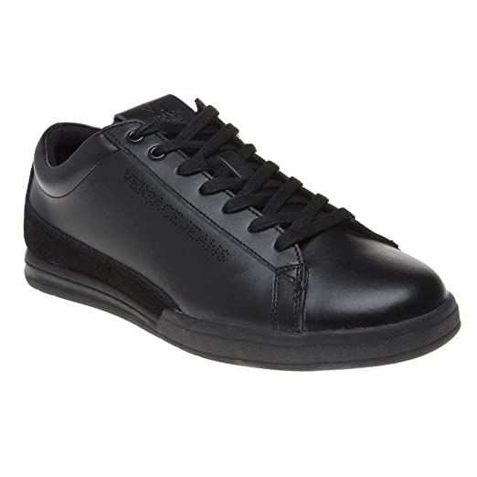 44d434159155a Amazon.com: Versace Jeans Cupsole Lace Mens Sneakers Black: Clothing