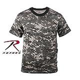 Rothco T-Shirt, Subdued Urban Digital, X-Small