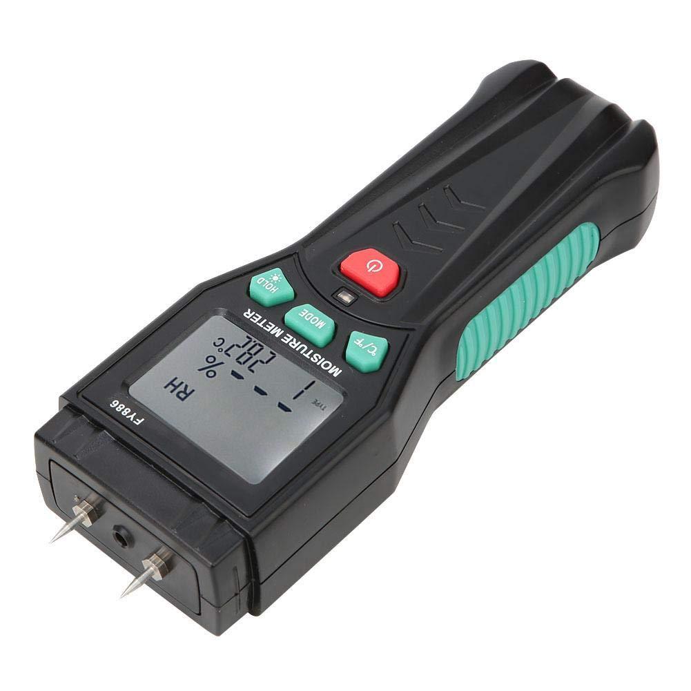 Wood Moisture Meter,Digital LCD Handhold Damp Detector Hygrometer Tester Sensor by Xinwoer
