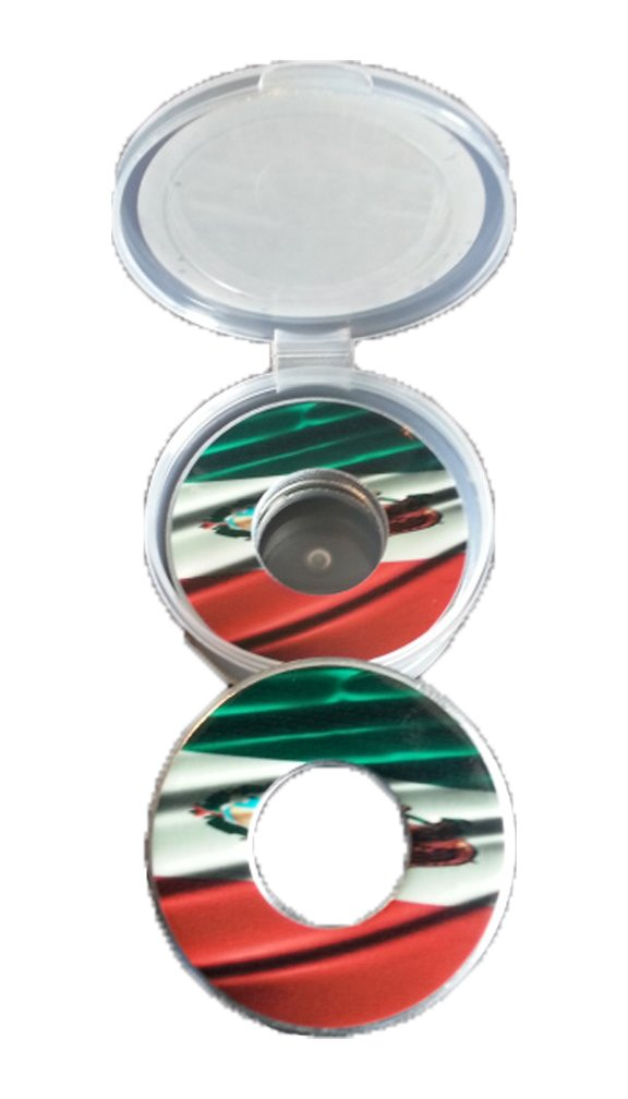 Mexican Flag Pitching Washers W/Case by Inkin It Up