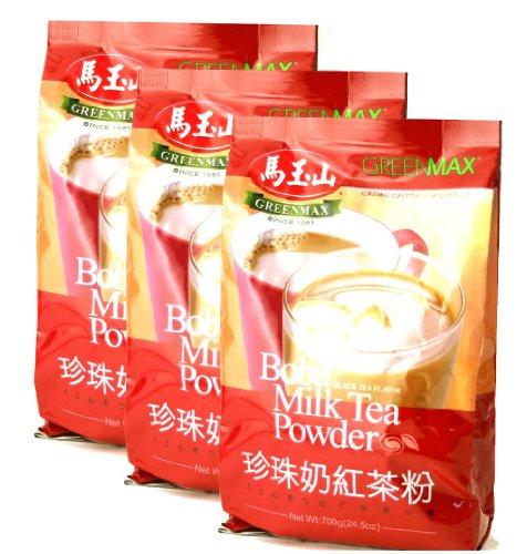 Greenmax Boba Milk Tea Powder 3 Pak - 3 X 24.5 Oz