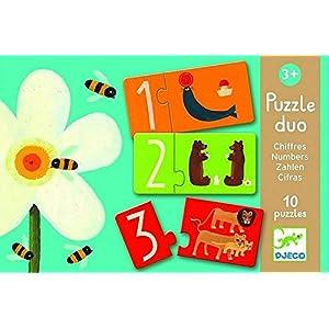 Puzzle Duo Numeri Djeco