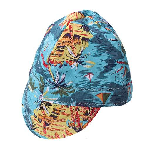 VORCOOL Premium Welding Hat Welding Welders Flame Retardant Protective Welding Cap Hat (Random Pattern)