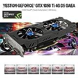 MChoice Yeston Geforce GTX 1050Ti GPU 4GB GDDR5 128bit Gaming Desktop Computer PC Support Video Graphics Cards PCI-E X16 3.0 ti