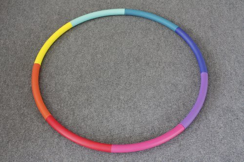 """Sports Hoop - Trim Hoop 4B - 3.9lb (Dia.41"""") Large, Weighted Hula Hoop for Workout"""