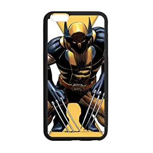 Wolverine Marvel Comics Case Custom Durable Hard Cover Case for iPhone 6 Plus - 5.5 inches case - Black Case