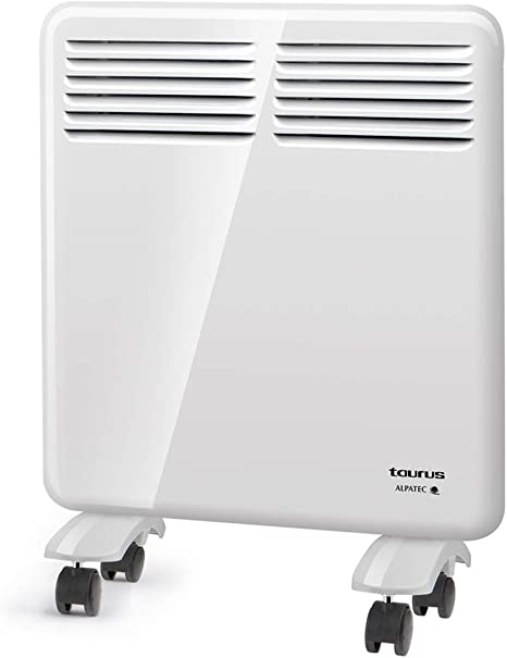 Taurus Alpatec blanc IP24 utilisation en salle de bain 1000W programmateur Chauffage Convecteur CHTA 1000