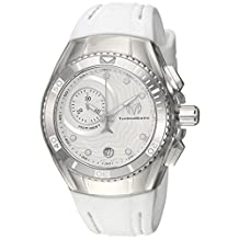 Technomarine Women's 'Cruise' Quartz Stainless Steel and Silicone Casual Watch, Color:White (Model: TM-115377)