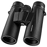 silkRd Braoses Binoculars for Adults,10x42 Binoculars with Low Night Vision, Compact HD Binoculars for Bird Watching,Travel,Hunting,Safari,Concerts,Sports,Stargazing and Outdoor, with BAK4 Prism,FMC