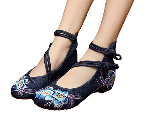 AvaCostume Embroidery Sandals Fashion Cheongsam