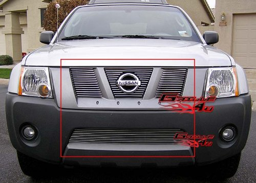 APS Compatible with 2005-2008 Nissan Xterra Billet Grille Combo S18-A71976N ()