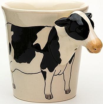 Vaisselle Animaux 3d Ceramique Fait Tasse Mug Vache 67gbyf