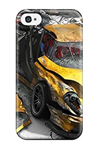 Ideal Rex Harper Case Cover For Iphone 4/4s(burnout Revenge), Protective Stylish Case