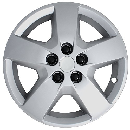 Chevrolet Malibu Hub (Hubcap for Chevrolet HHR Malibu (Single Piece) Wheel Cover - 16 Inch Silver Replacement)