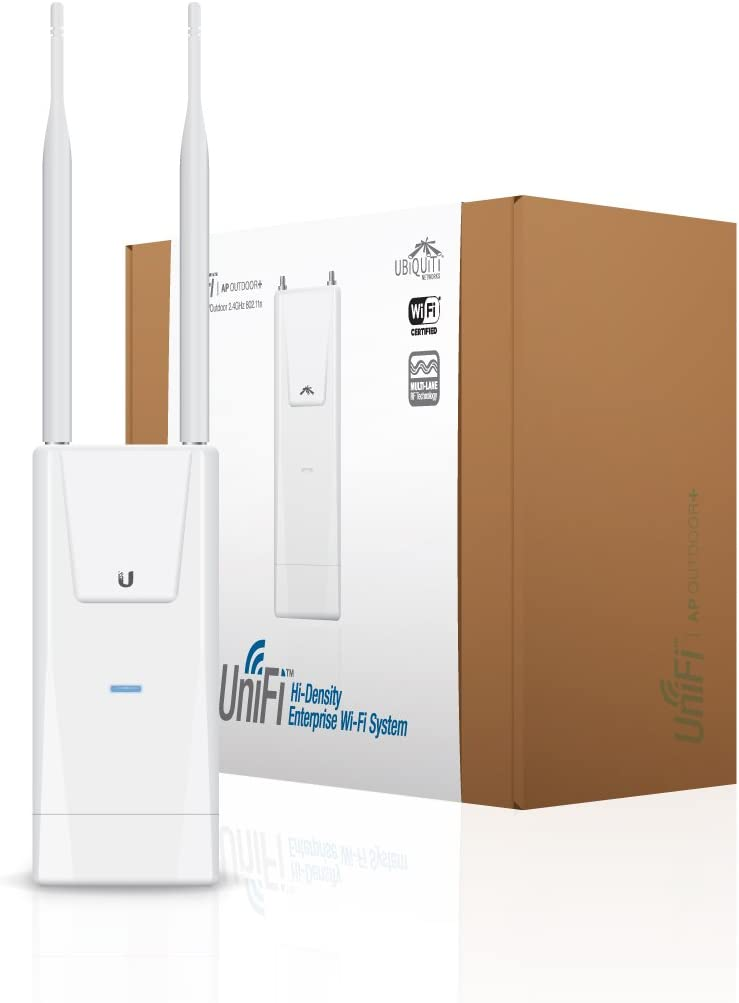Ubiquiti Networks 2.4 GHz, 300mbps, 183m, UAP-OUTDOOR+