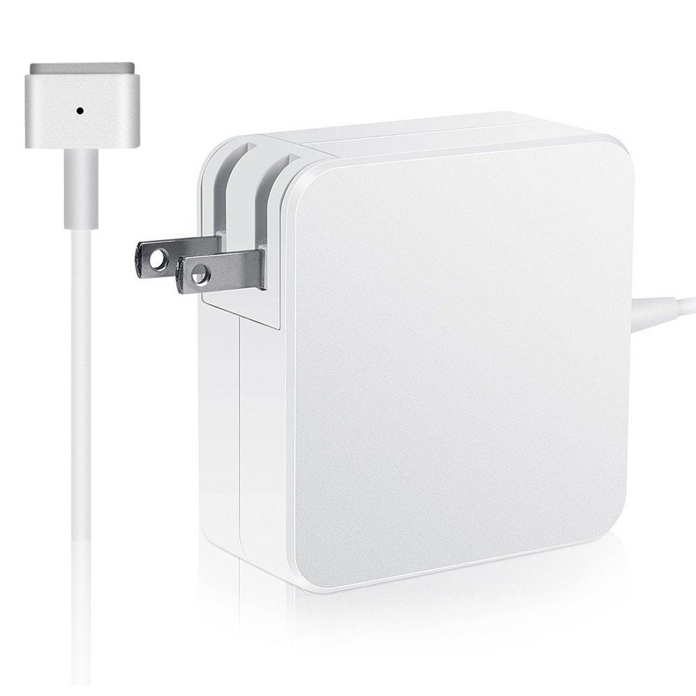 Macbook Air Charger, 45W MagSafe 2 Power Adapter Magnetic T-Tip  Ac Charger for Macbook Air 11 Inch and 13-inch