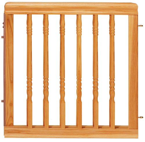 Amazon Com Evenflo Home Decor Wood Gate Natural Oak Indoor