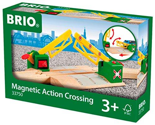 BRIO Magnetic Action Crossing (Railroad Toy Crossing)