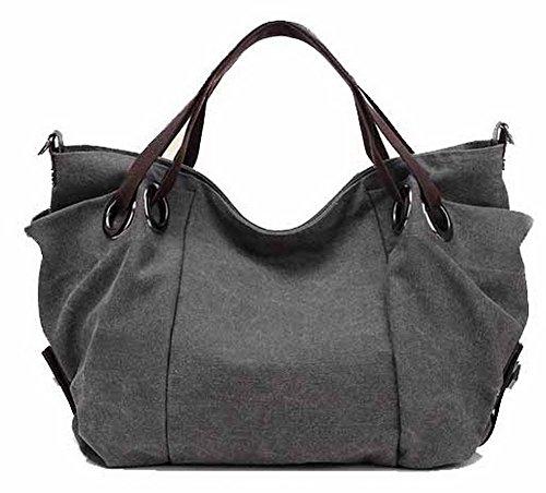 Bags Gray Tsmbh180669 Women Zippers Crossed Casual Aalardom Travel Handbags O80Pt8qnx