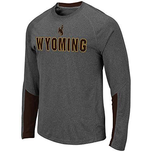 Mens Wyoming Cowboys Brisbane Long Sleeve Tee Shirt - M