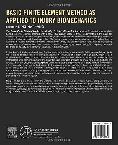 Basic Finite Element Method as Applied to Injury Biomechanics