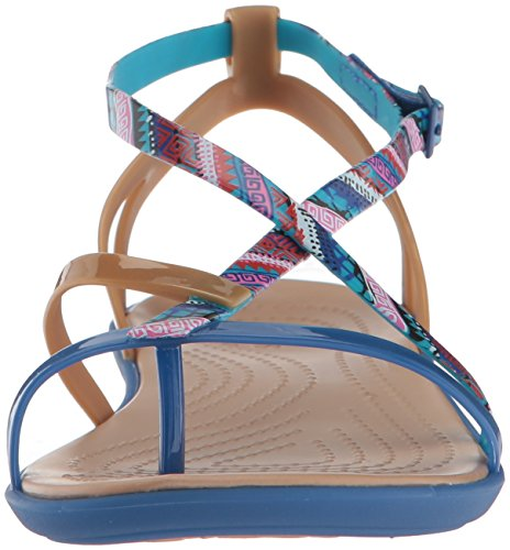 Pictures of Crocs Women's Isabella Gladiator Graphic Sandal 205146 5